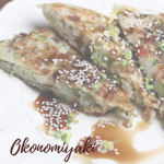 Okonomiyaki vegan delivered