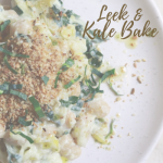 Leek & Kale Bake vegan vegetarian delivered